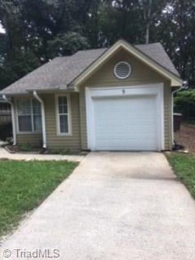 Greensboro NC Single Family Home For Sale: $85,900