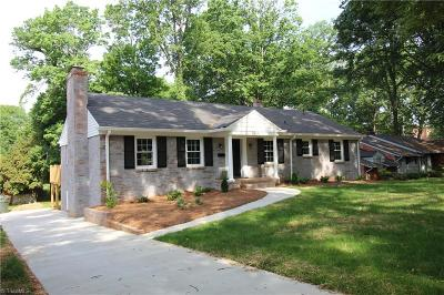 Greensboro Single Family Home For Sale: 1315 Lakewood Drive