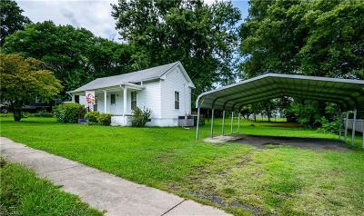Surry County, Stokes County, Rockingham County, Yadkin County, Forsyth County, Guilford County, Alamance County, Davie County, Davidson County, Caswell County, Randolph County Single Family Home For Sale: 1409 South Avenue