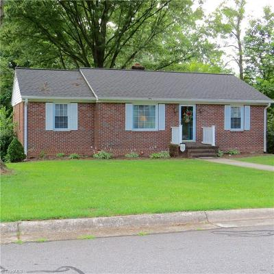Rockingham County Single Family Home For Sale: 208 Pinedale Drive