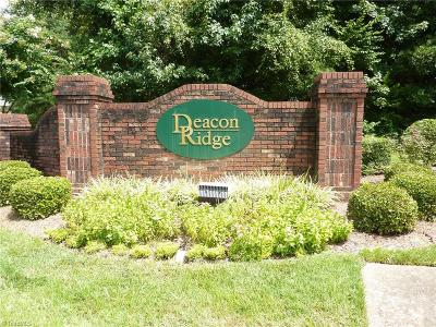 Winston Salem Condo/Townhouse Due Diligence Period: 532 Timberline Ridge Lane #532