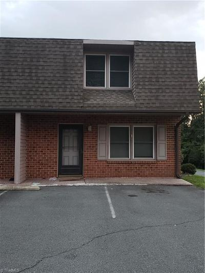 Surry County, Stokes County, Rockingham County, Yadkin County, Forsyth County, Guilford County, Alamance County, Davie County, Davidson County, Caswell County, Randolph County Condo/Townhouse For Sale: 188 Hebron Church Road #4