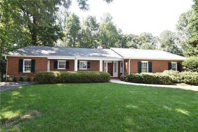 Surry County, Yadkin County, Davie County, Stokes County, Forsyth County, Davidson County, Rockingham County, Guilford County, Randolph County, Caswell County, Alamance County Single Family Home For Sale: 2000 Faculty Drive