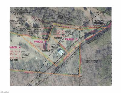 Reidsville Residential Lots & Land For Sale: Parcel B Sunset View Road