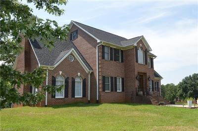 Surry County, Yadkin County, Davie County, Stokes County, Forsyth County, Davidson County, Rockingham County, Guilford County, Randolph County, Caswell County, Alamance County Single Family Home For Sale: 893 Shoals Road