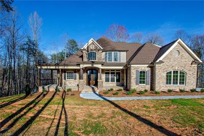 Surry County, Yadkin County, Davie County, Stokes County, Forsyth County, Davidson County, Rockingham County, Guilford County, Randolph County, Caswell County, Alamance County Single Family Home For Sale: 268 N Bunker Hill Road