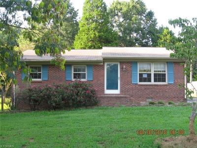 Surry County, Stokes County, Rockingham County, Yadkin County, Forsyth County, Guilford County, Alamance County, Davie County, Davidson County, Caswell County, Randolph County Single Family Home For Sale: 1911 3rd Street