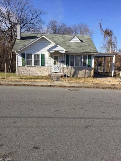 Reidsville Single Family Home For Sale: 104 S Branch Street