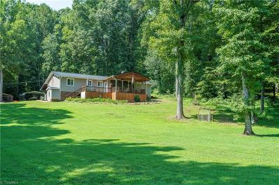 Guilford County, Forsyth County, Davidson County, Randolph County, Surry County, Yadkin County, Davie County, Stokes County, Rockingham County, Caswell County, Alamance County Single Family Home For Sale: 1808 Travis Lane