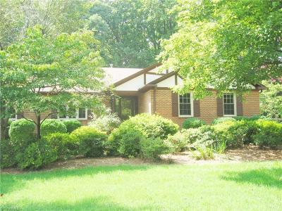 Greensboro NC Single Family Home For Sale: $268,500