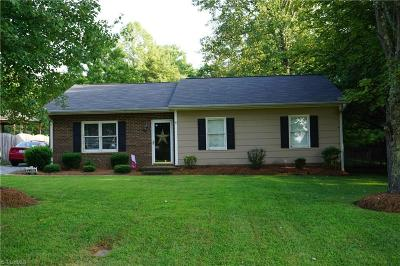 Kernersville Single Family Home For Sale: 2260 Pisgah Church Road