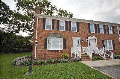 Greensboro Condo/Townhouse For Sale: 307 College Road