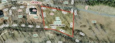 Pfafftown Residential Lots & Land For Sale: 4005 Lofter Court