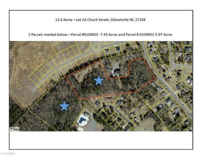 Gibsonville Residential Lots & Land For Sale: 2a Church Street