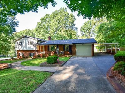 Pfafftown Single Family Home For Sale: 1630 Bright Leaf Road