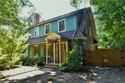 Winston Salem Multi Family Home For Sale: 1700 Lynwood Avenue