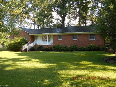 Denton NC Single Family Home Pending: $164,900