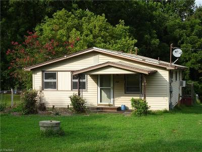 Reidsville Single Family Home For Sale: 3364 Vance Street