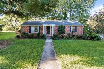 Greensboro Single Family Home For Sale: 2707 Fairway Drive