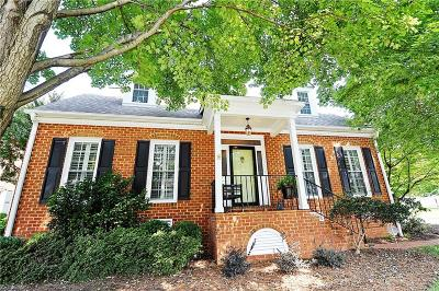 Winston Salem Single Family Home For Sale: 125 Coventry Park Lane