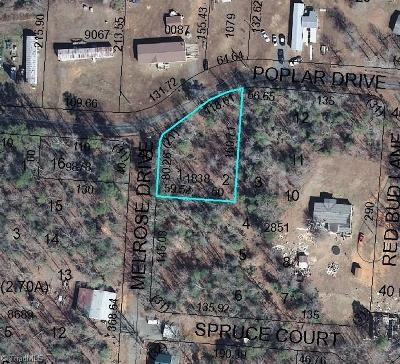 Residential Lots & Land For Sale: Poplar Drive