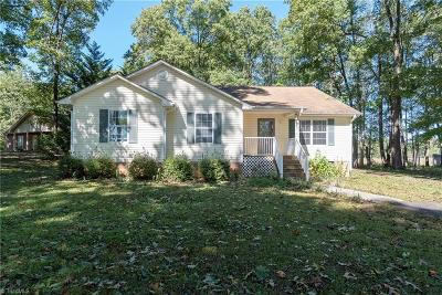 Mocksville Single Family Home For Sale: 260 Allen Road