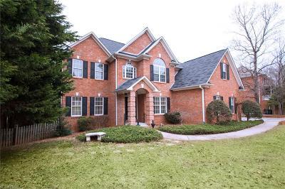 Winston Salem Single Family Home For Sale: 165 Stonebrook Court