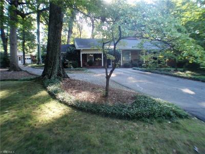 Greensboro Single Family Home For Sale: 706 Lipscomb Road