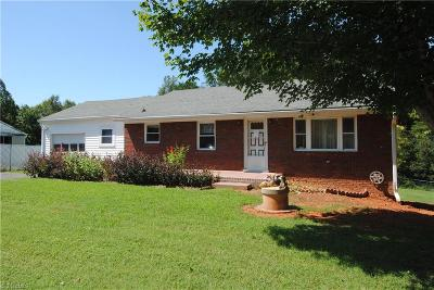 Pfafftown Single Family Home For Sale: 6095 Yadkinville Road