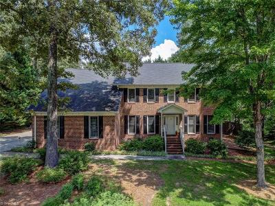 Greensboro Single Family Home For Sale: 3801 Waldenbrook Road