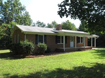 Caswell County Single Family Home For Sale: 4162 John Oakley Road