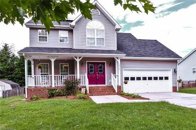Kernersville Single Family Home For Sale: 1012 Hastings Hill Road