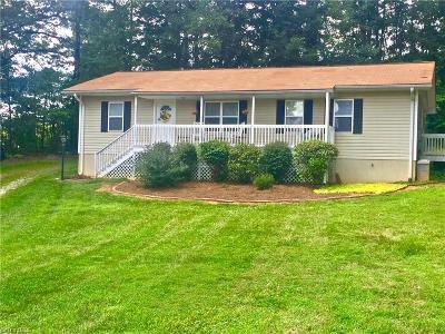 Mocksville Single Family Home For Sale: 606 Cedar Grove Church Road