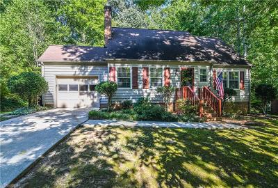 Jamestown Single Family Home Due Diligence Period: 1001 Pineburr Road