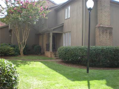 Greensboro NC Condo/Townhouse For Sale: $289,000