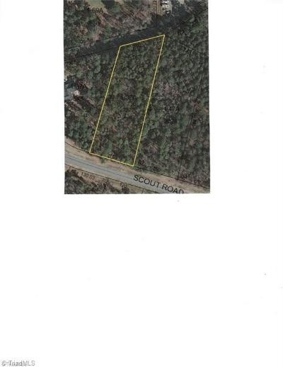 Residential Lots & Land For Sale: 1033 Scout Road