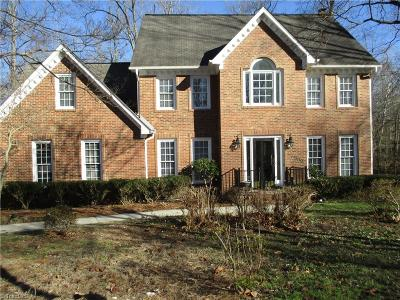 Guilford County Single Family Home For Sale: 3909 Waterside Drive