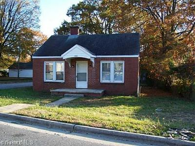 Greensboro NC Single Family Home For Sale: $70,300