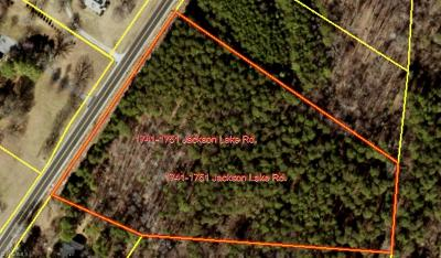 Archdale Residential Lots & Land For Sale: 1741 Jackson Lake Road