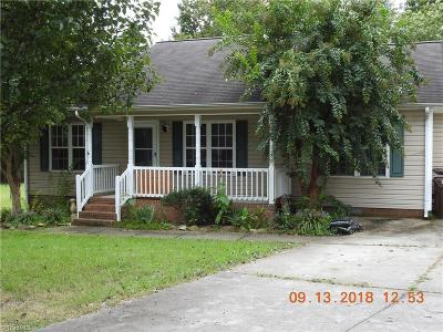 High Point Single Family Home For Sale: 1500 Hughes Court