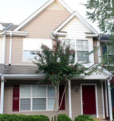 Winston Salem Condo/Townhouse For Sale: 2545 Halle Ann Circle