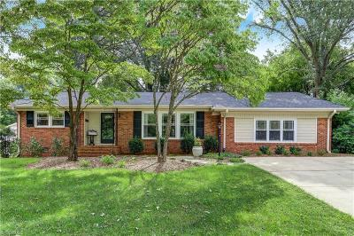 Greensboro Single Family Home For Sale: 2803 Northampton Drive