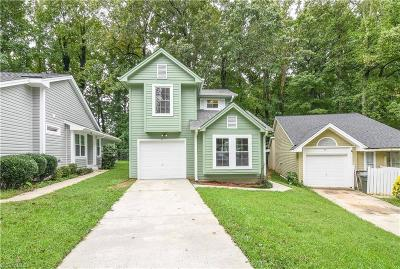 Greensboro NC Single Family Home For Sale: $105,000