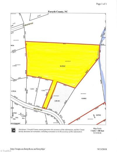 Winston Salem Residential Lots & Land For Sale: Hilltop Drive