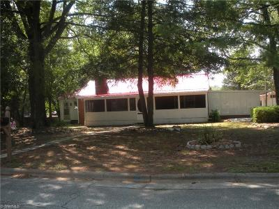 Greensboro NC Single Family Home For Sale: $129,950