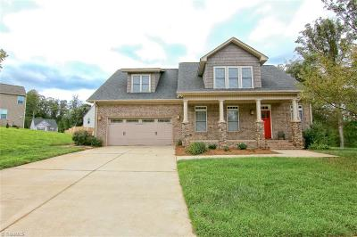 Kernersville Single Family Home Due Diligence Period: 140 Harmon Ridge Court