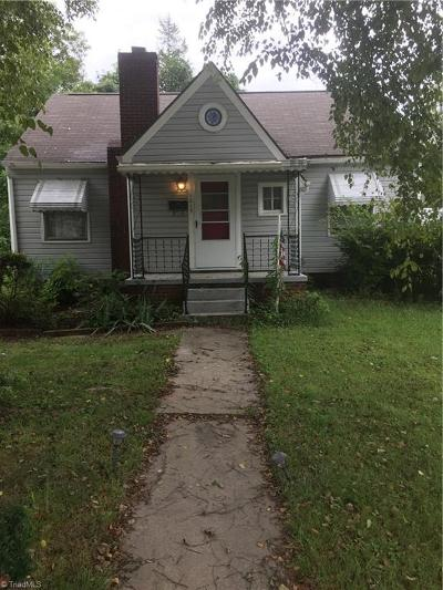 High Point Single Family Home For Sale: 1015 Tipton Street