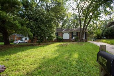 Single Family Home For Sale: 3105 Shallowford Drive