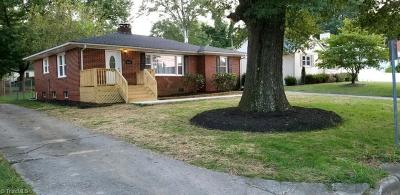 High Point Single Family Home For Sale: 603 Quaker Lane