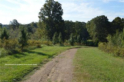 Davie County Residential Lots & Land For Sale: 0000 Koontz Road